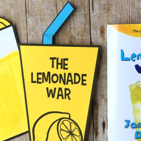 حرب شراب الليمون: كتاب لليافعين عن أسس الاقتصاد والغيرة بين الأخوة