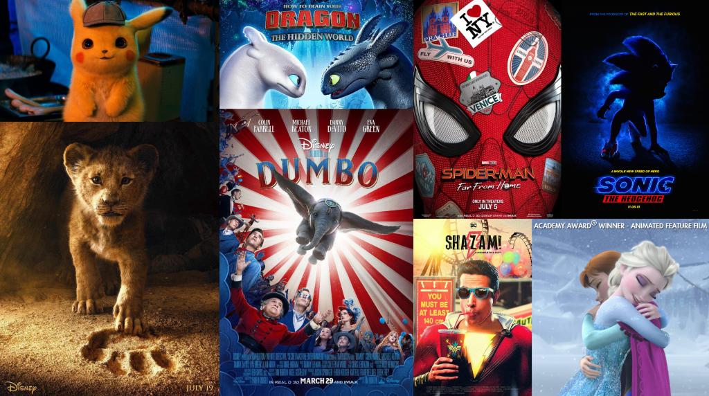 قائمة 20 فيلم أطفال وفتيان جديدة لعام 2019