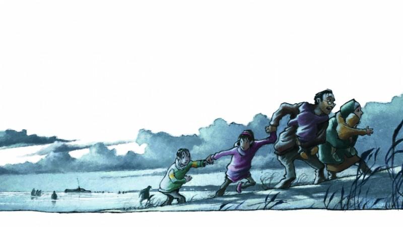 لاجئون في أدب الأطفال: بين البحر واليابسة الجديدة