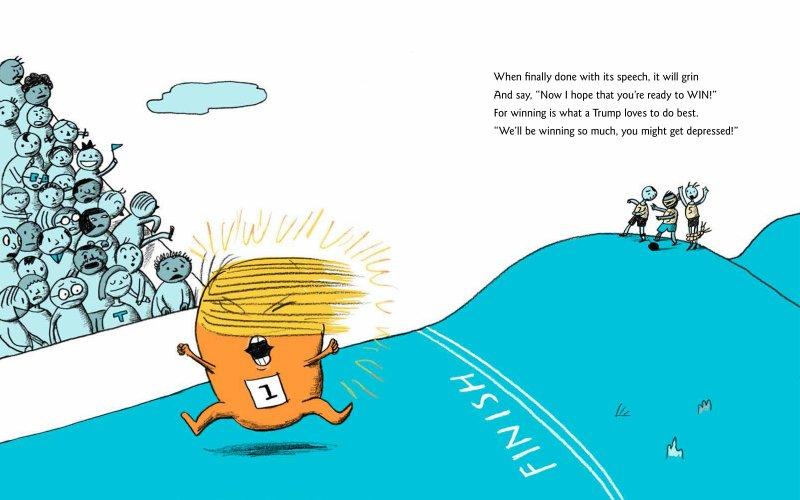 جديد في أمريكا: ترامب حبّة بطاطا في كتاب للأطفال