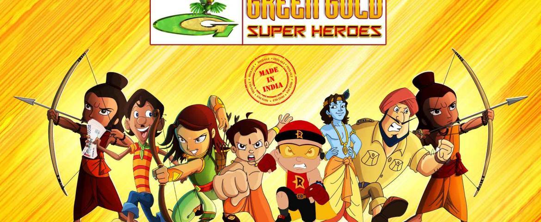 والت ديزني الهندي – استديوهات الذهب الأخضر في الهند