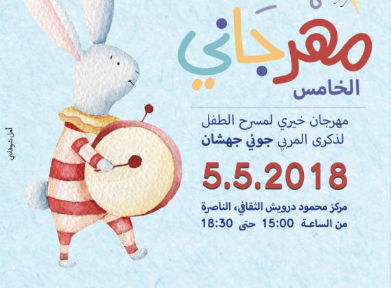 مهرجاني: مهرجان خيري سنوي لمسرح الطفل في الناصرة