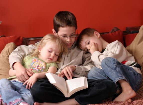 مشروع جديد: أطفالنا يقرؤون لكم